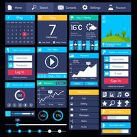 Modèle d'interface utilisateur plat