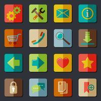 Ensemble d'icônes de site Web vecteur