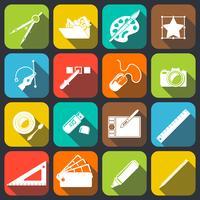 Icônes des outils de concepteur