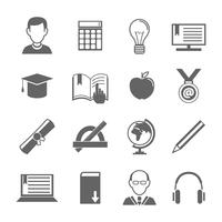 e-learning icon set