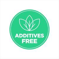 Icône gratuite additifs. vecteur