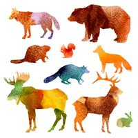 Aquarelle Animaux Set