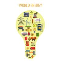 World Energy Lamp Concept