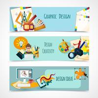 Ensemble de bannières design