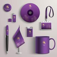 Design d'identité d'entreprise vecteur