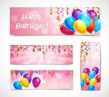 Set de bannières de célébration