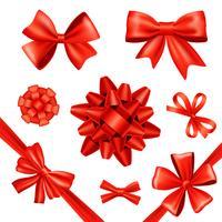 Rubans et cadeaux vecteur