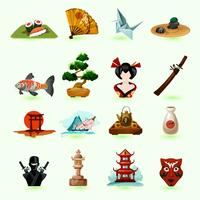 Japon Icons Set