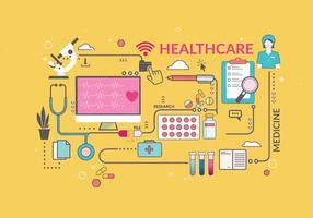 Vecteur de soins de santé