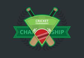 Illustration du logo de cricket
