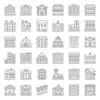 construction de bâtiments vecteur