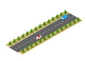 Isométrique suburbain à grande vitesse