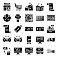 Pack d'icônes retail
