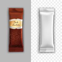 Conception de l'emballage du produit vecteur