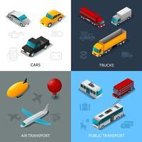 Set de transport isométrique