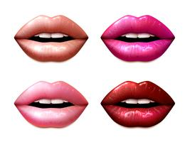 Set d'échantillons de lipstic