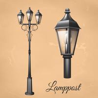 Lamp Lamp Set vecteur