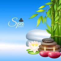 Illustration de fond de spa