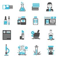 Pharmacie Icons Set