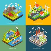 Environnement Pollution et Protection vecteur