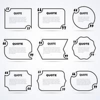 Citations de la sagesse intemporelle décrit ensemble d'icônes vecteur