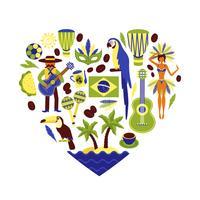 Ensemble décoratif Brésil