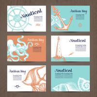 Set de cartes nautiques