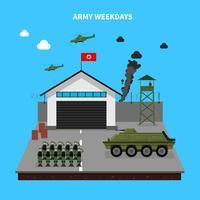 Illustration de semaine de l'armée