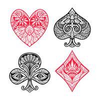 Ensemble de cartes