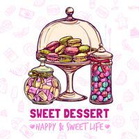 Affiche du magasin de bonbons