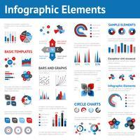 ensemble d'infographie d'affaires