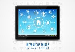 Tablette Internet des objets