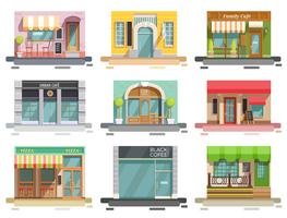 Cafe Flatfront Set Set