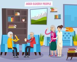 Composition orthogonale des personnes âgées vecteur
