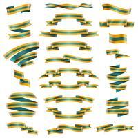 Ensemble de rubans décoratifs