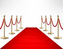 Bannière de l'évènement formel des célébrités du tapis rouge