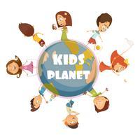 Jouer au concept d'enfants