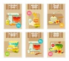 Bannières et cartes de cuisson