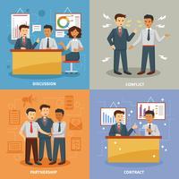 Ensemble de la vie des affaires