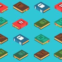 Livre Seamless Pattern vecteur