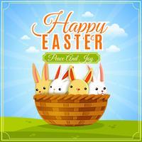 Illustration de l'affiche de Pâques