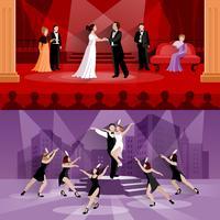 Compositions de personnages de théâtre