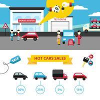 Bannières de concessionnaires automobiles