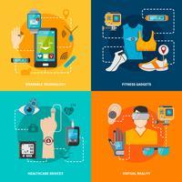 Ensemble de technologies intelligentes vecteur