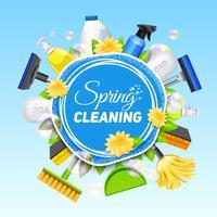 Affiche de service de nettoyage