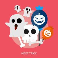 Meet Trick Conceptuel illustration Design
