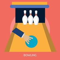 Bowling 2 Illustration conceptuelle Design