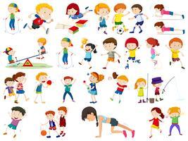 Ensemble d'exercices pour enfants