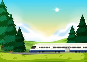 Un rail à la nature