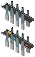Conception de pont en conception 3D